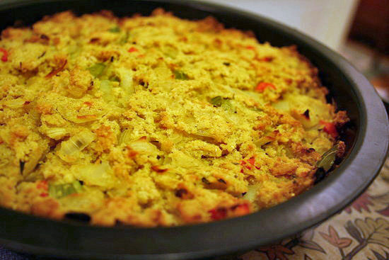 this southern style cornbread dressing recipe has been in my family ...