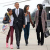 Obamas Return to White House After 2012 Election