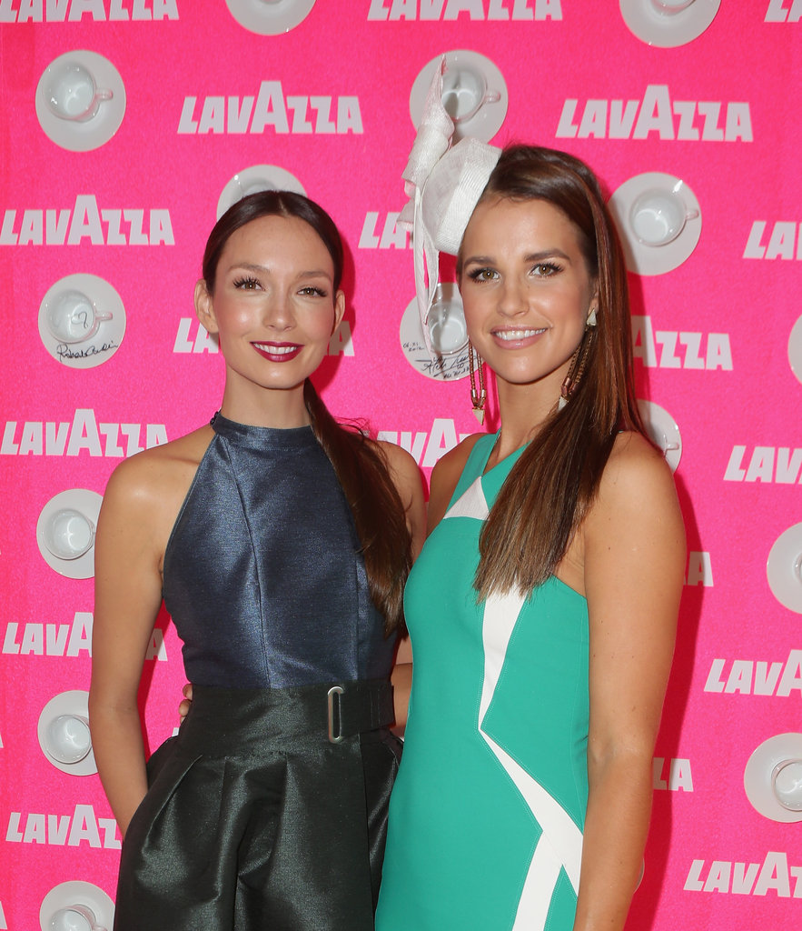 Ricki-Lee Coulter and Vogue Williams