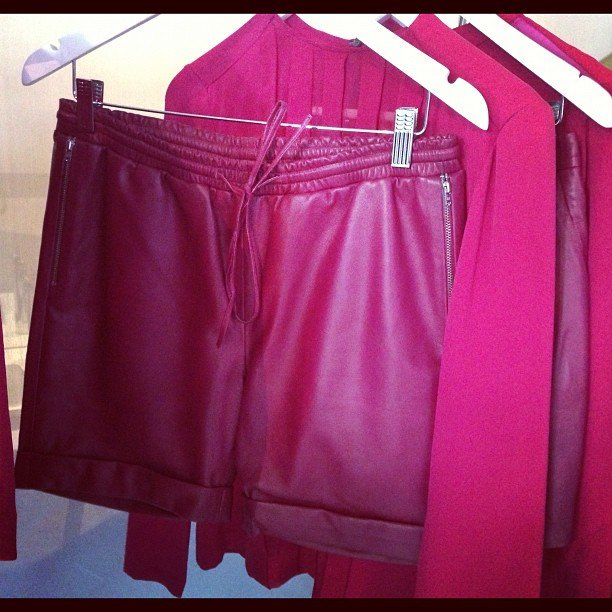 More leathery goodness from the new Dion Lee A/W line.
