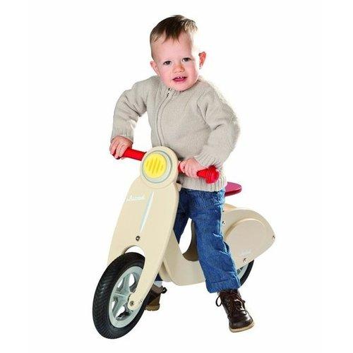 For 3-Year-Olds: Janod Wooden Scooter Balance Running Bike