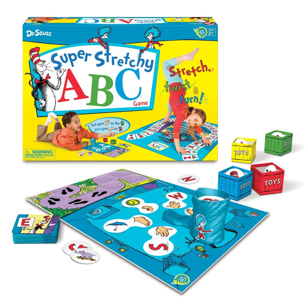 Dr. Seuss Super Stretchy ABCs