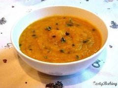Spicy Pumpkin & Lemon Thyme Soup