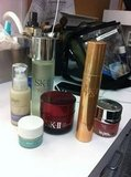 Rachael Taylor reveals the SK-II prods she uses to look fresh on set. Source: Twitter user _Rachael_Taylor