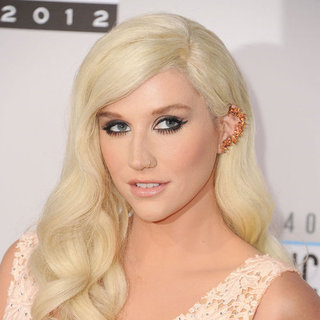 Kesha American Music Awards Beauty Look 2012