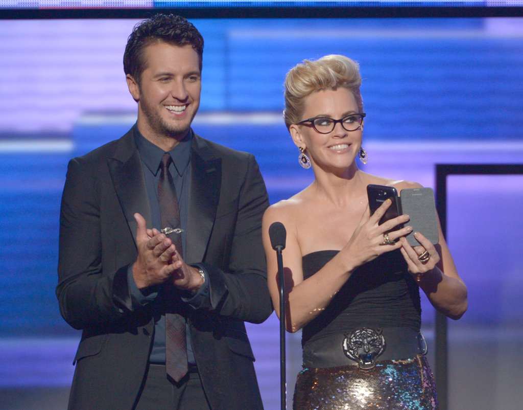 Luke Bryan and Jenny McCarthy