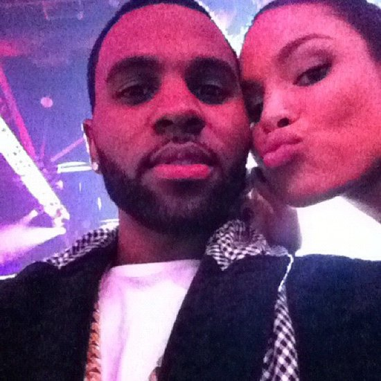 Jordin Sparks and Jason Derulo shared a kiss with fans. Source: Instagram user futurehistory1