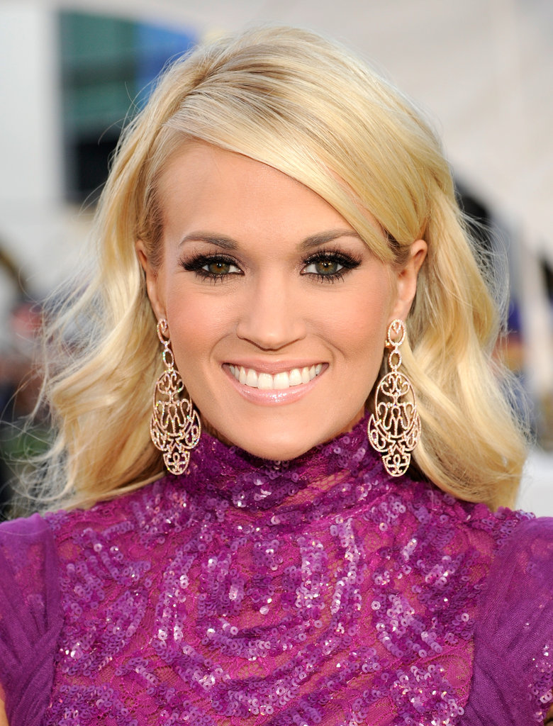 Carrie Underwood attended the American Music Awards.