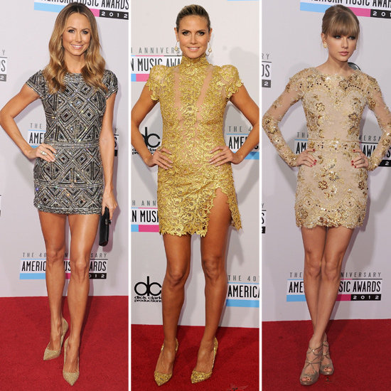 American Music Awards: Battle of the Metallic Minis
