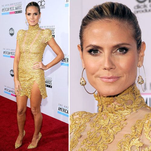 Heidi Klum at American Music Awards