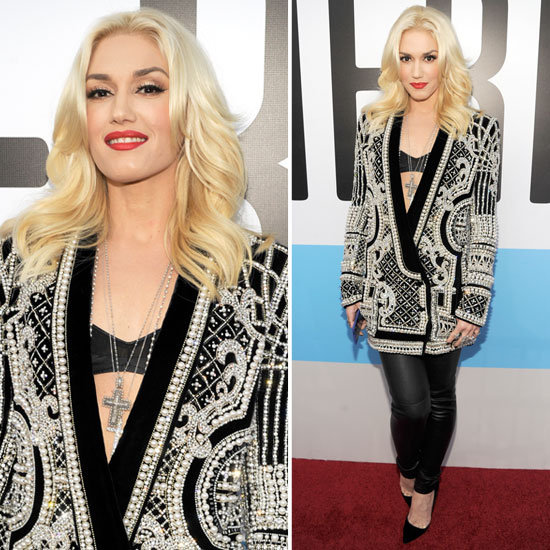 Pictures of Gwen Stefani at the 2012 American Music Awards