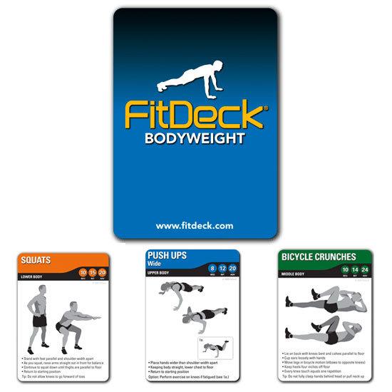 FitDeck Bodyweight Exercise Deck