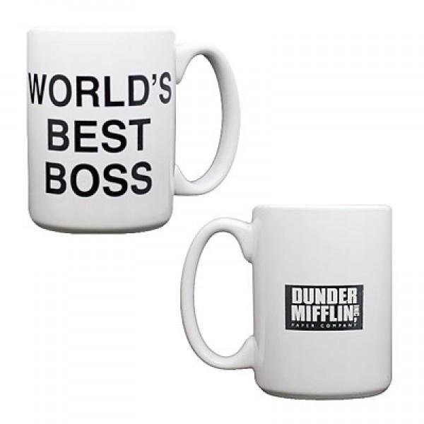 World 39 S Best Boss Mug 12 Shop Dunder Mifflin Gifts