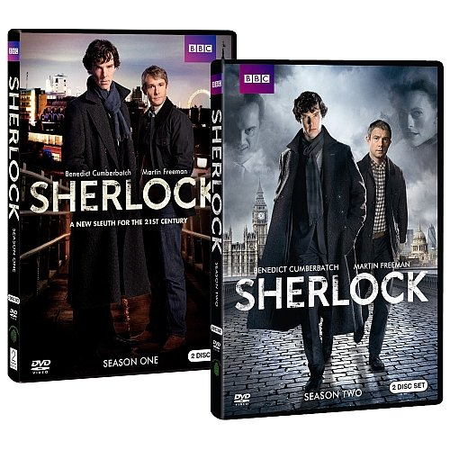 Sherlock: Season One ($35) Sherlock: Season Two ($30)