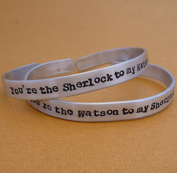Sherlock and Watson Friendship Bracelets ($29)