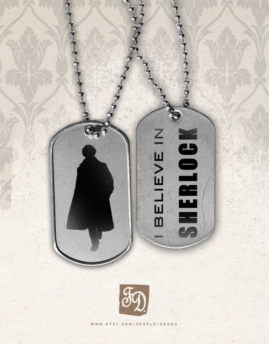 """I Believe in Sherlock"" Tags ($6)"