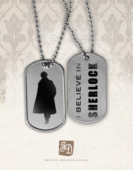 """""""I Believe in Sherlock"""" Tags ($7)"""