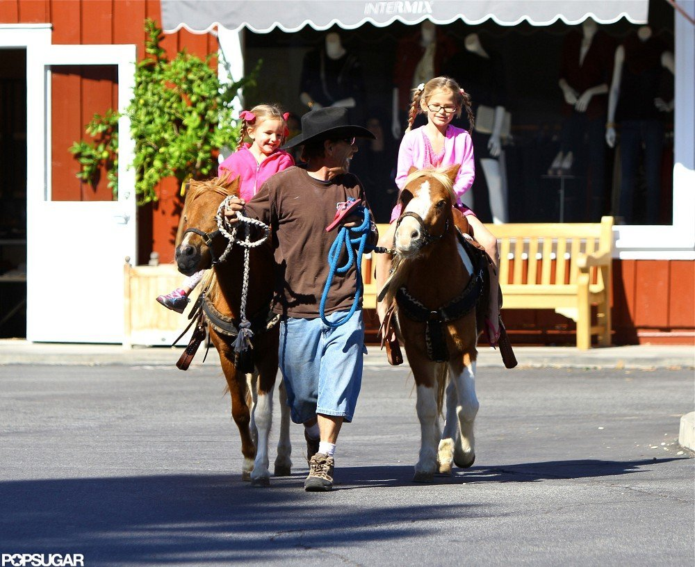Ben and Jen Take Vi and Sera for Market Shopping and Pony Rides
