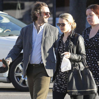 Rachel McAdams and Michael Sheen at Lunch in LA