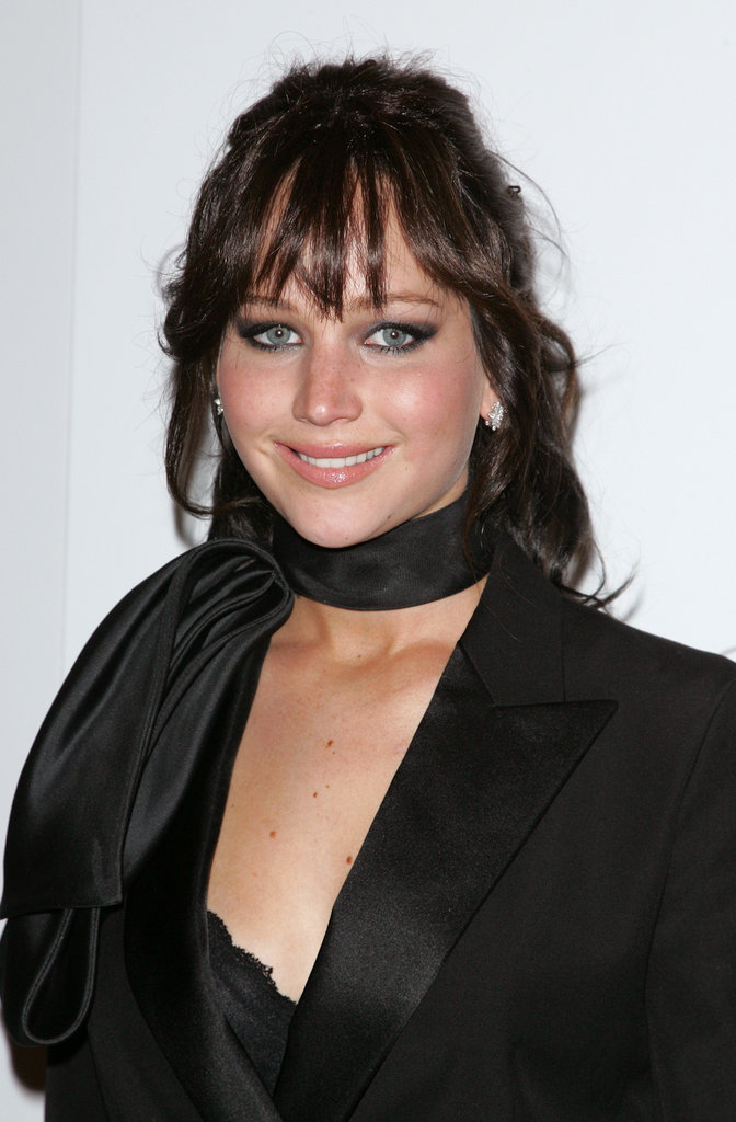 Jennifer Lawrence smiled at the NYC screening of Silver Linings Playbook.