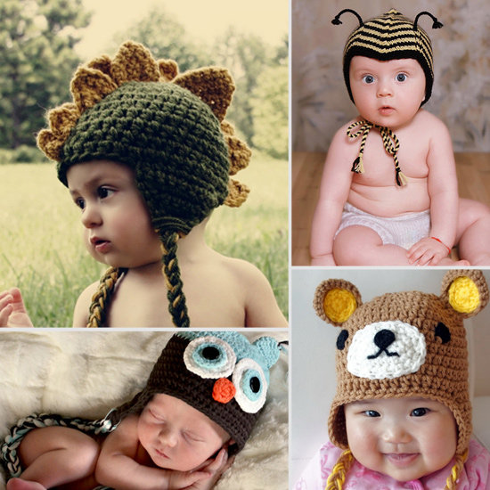 9 Adorable Animal Hats For Lil Ones