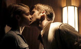 In what will surely go down as one of the hottest elevator scenes in cinematic history (well, possibly until the Fifty Shades movie comes out), Ryan Gosling's dangerous Drive protagonist went in for a smoldering smooch with Carey Mulligan's character in the elevator of their apartment building. Let's just say we've never been more jealous of Carey! Source: Film District