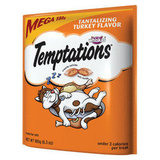 Crunchy on the outside and soft on the inside, these Whiskas Temptations Tantalizing Turkey Flavor treats ($4) will make your cat think he's sinking his teeth into the crispy skin and juicy flesh of a turkey leg.