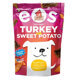 What better way to include your pup in the Thanksgiving feast than with turkey and a sweet potato side? He'll gobble up these Plato EOS Turkey With Sweet Potato treats ($10) as you're doing the same.