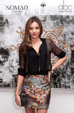 Miranda Kerr Visits Vogue and Fits In a Nighttime Fashionable Bash
