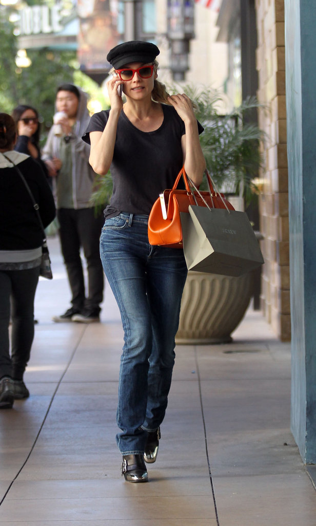 Diane Kruger spent some time out in LA.
