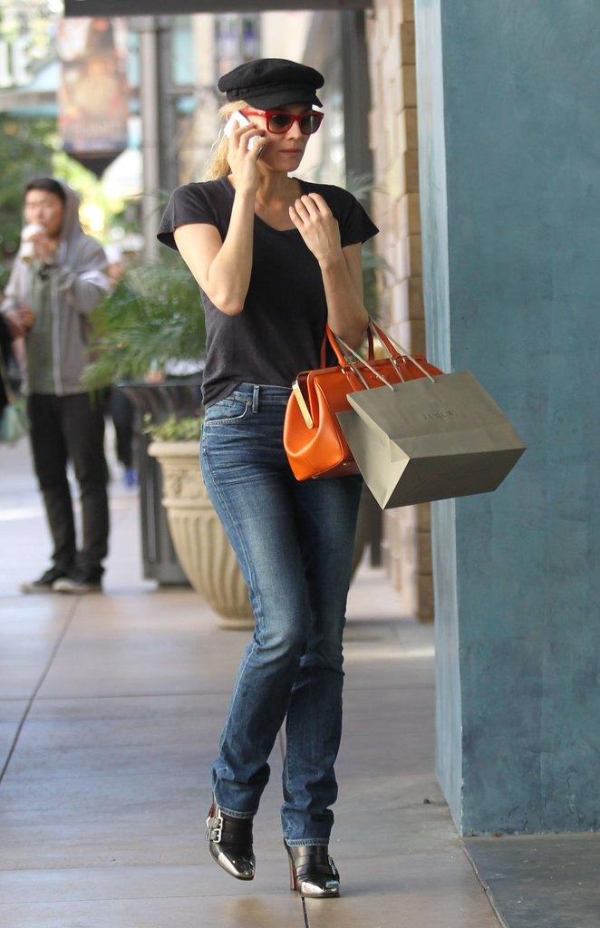 Diane Kruger went on a shopping trip in LA.