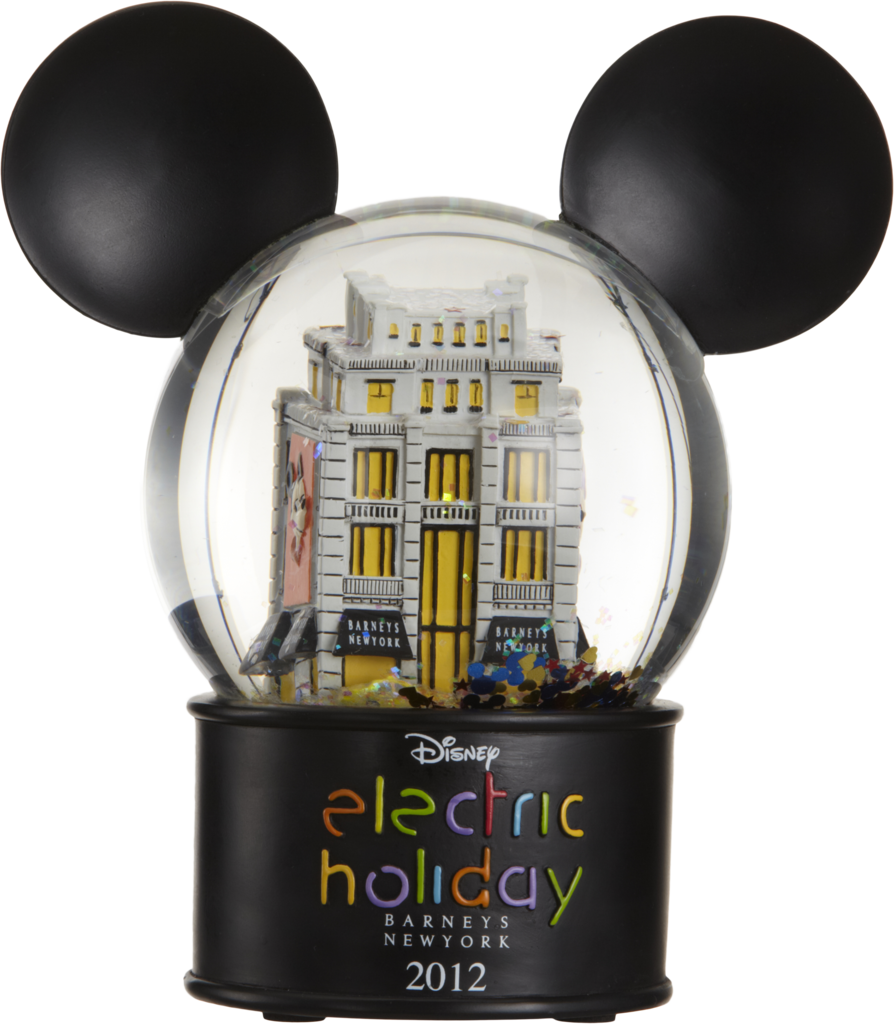 Electric Holiday Custom Snow Globe ($95)