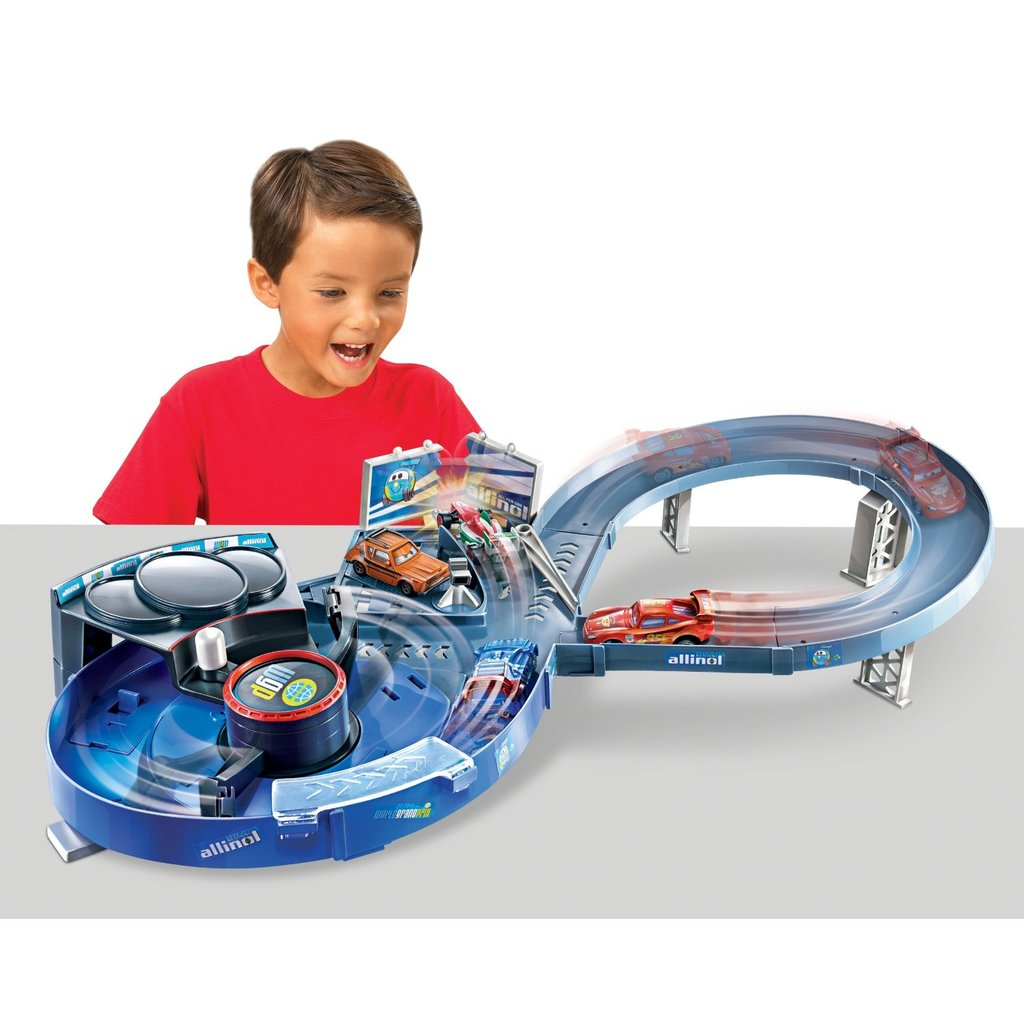 Cars 3 Quick Changers Crash 'N' Change Speedway Track Set