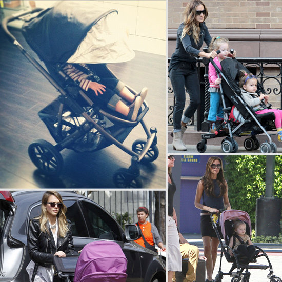 Hot Wheels! Celebrity Babies' Favorite Strollers
