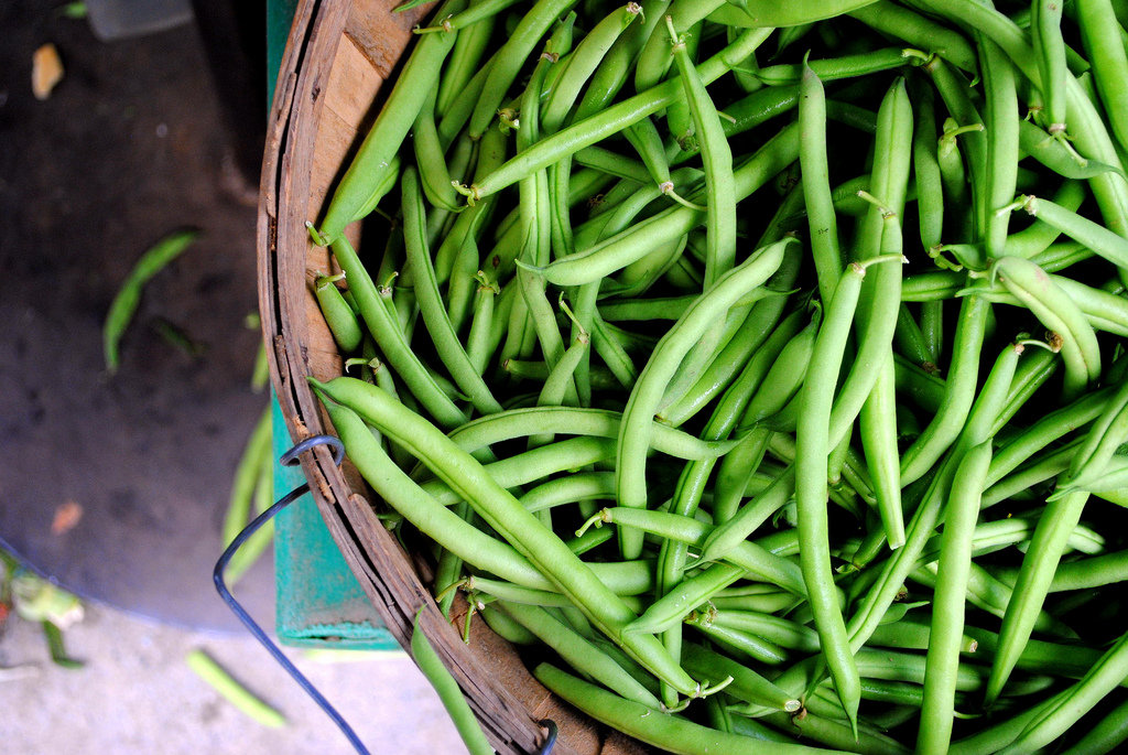 Snap Ends Off the Green Beans