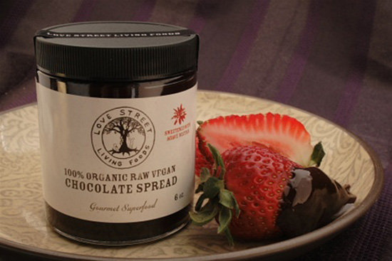 Raw Organic Vegan Chocolate Spread Gift Box