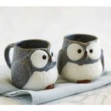Friends will get a hoot out of these adorable Owl Mugs ($35).