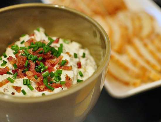 Caramelized Leek and Bacon Dip