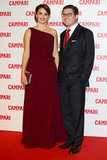 Penelope Cruz hit the red carpet to unveil her Campari calendar.