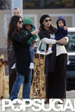 Sandra Bullock Shares a Playdate With Camila Alves and Their Kids
