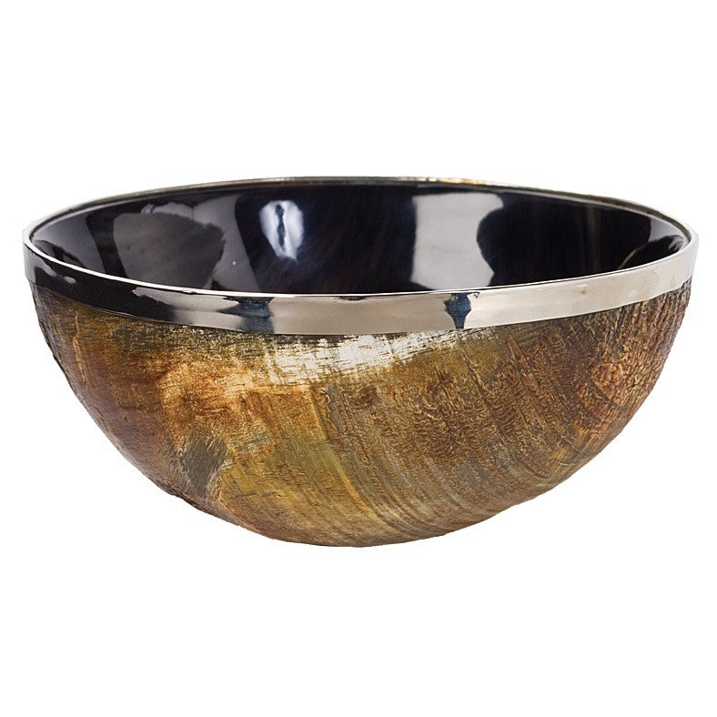 With a glossy navy interior, a gold horn finish, and a metallic rim, this Regina Andrew Polished Horn and Brass Bowl ($30) is the perfect on-trend piece for the stylish friend on your list.