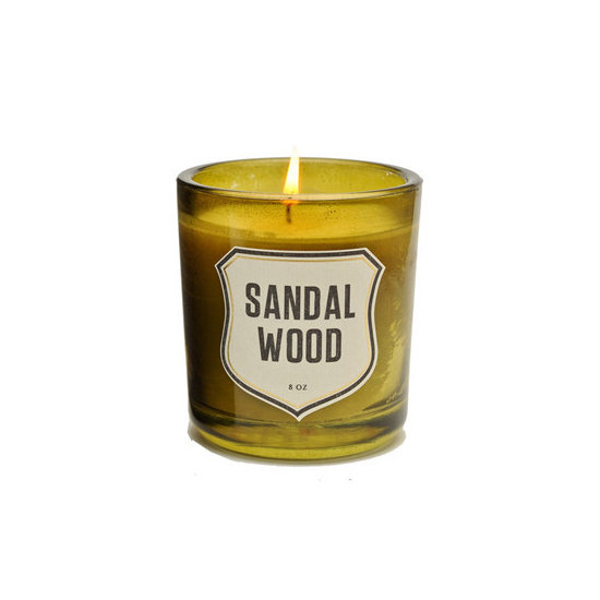 Allow the man in your life to create a seductive ambience in his home with a sandalwood candle from Izola ($35). And if sandalwood isn't his thing, there are plenty of other sensually scented choices, such as sage, rosemary, and green moss.