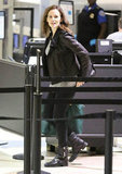 Jennifer Garner traveled through LAX.