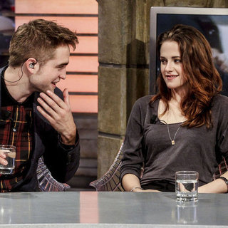 Kristen Stewart, Rob Pattinson, Taylor Lautner Spanish TV