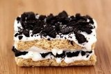 Oreo-Stuffed Rice Krispie Treats