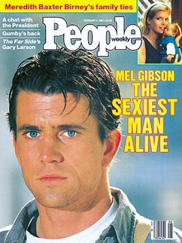 "The Sexiest Man Alive tradition started in 1985, but originally it wasn't just to celebrate male attractiveness. People had planned to do a feature on Mel Gibson when one of the female editors said, ""Oh my God, he is the sexiest man alive!"" It was then used as the cover line and sparked the beginning of the one of the magazine's most anticipated yearly features. So that means 29-year-old Mel Gibson was the inaugural Sexiest Man Alive — and he was still an Australian citizen at the time!"
