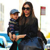 Miranda Kerr With Flynn Bloom Walking in NYC Pictures