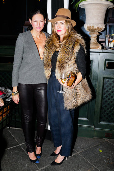 Jenna Lyons and Claiborne Swanson Frank
