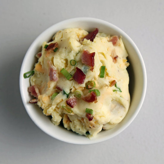 Mashed Potatoes With Bacon, Cheddar, and Scallions