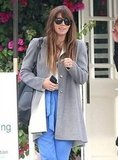 Jessica Biel was all smiles in Santa Monica.